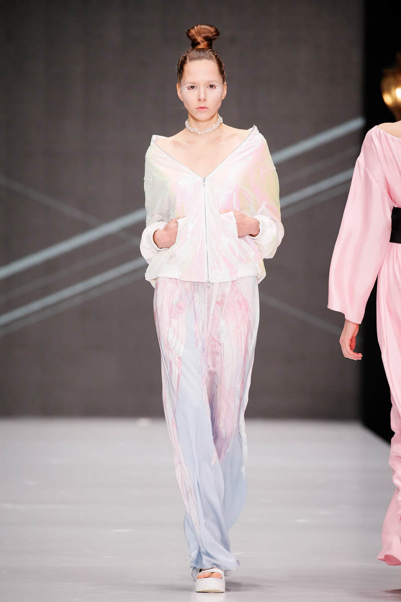 A look from Dimaneu's spring 2017 collection. Photo: MBFW Russia