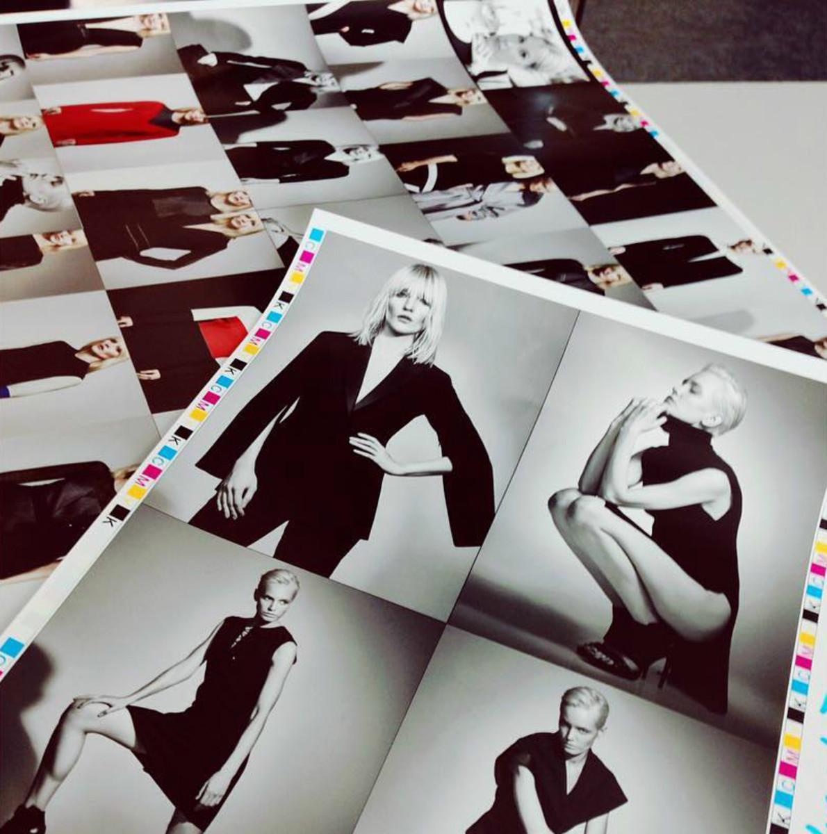 """Images from Vassa & Co.'s fall 2016 lookbook, """"Frame Noir."""" Photo: @vassa_co/Instagram"""
