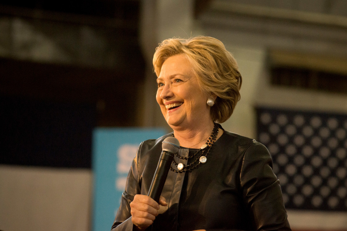 Hillary Clinton just nabbed 'Vogue''s first-ever political endorsement. Photo: Getty Images