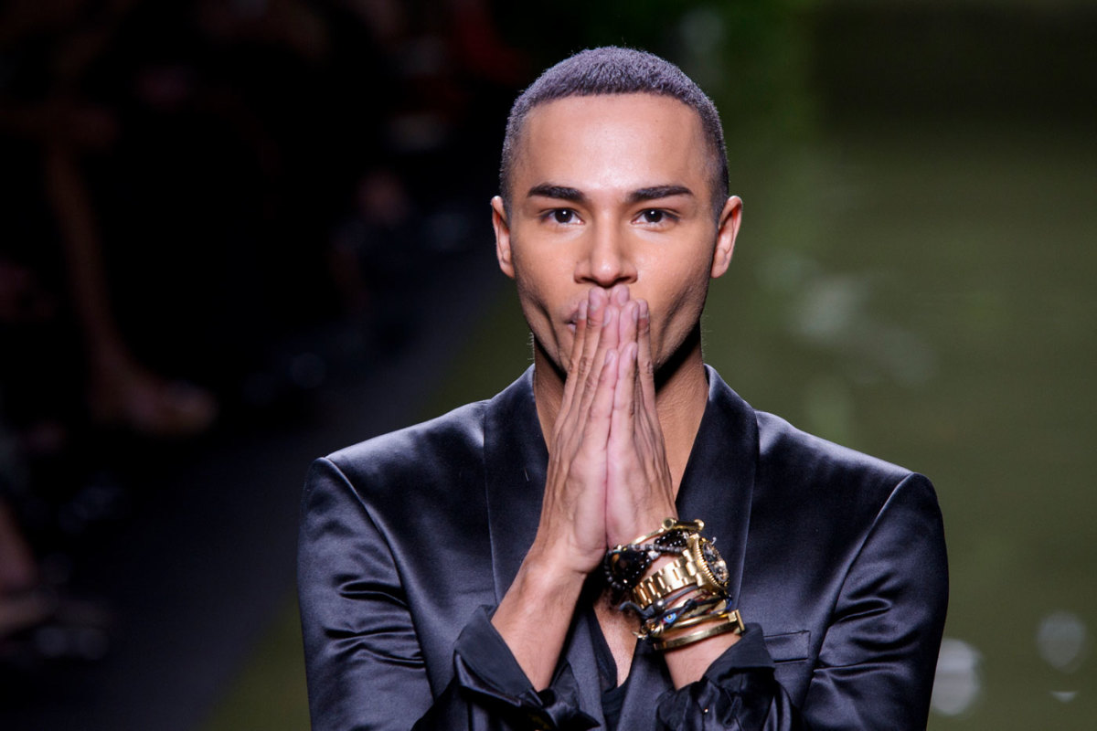590aabce3f8f Olivier Rousteing Opens Up About Racial Discrimination, Social Media  Profitability and Launching His Own Line - Fashionista