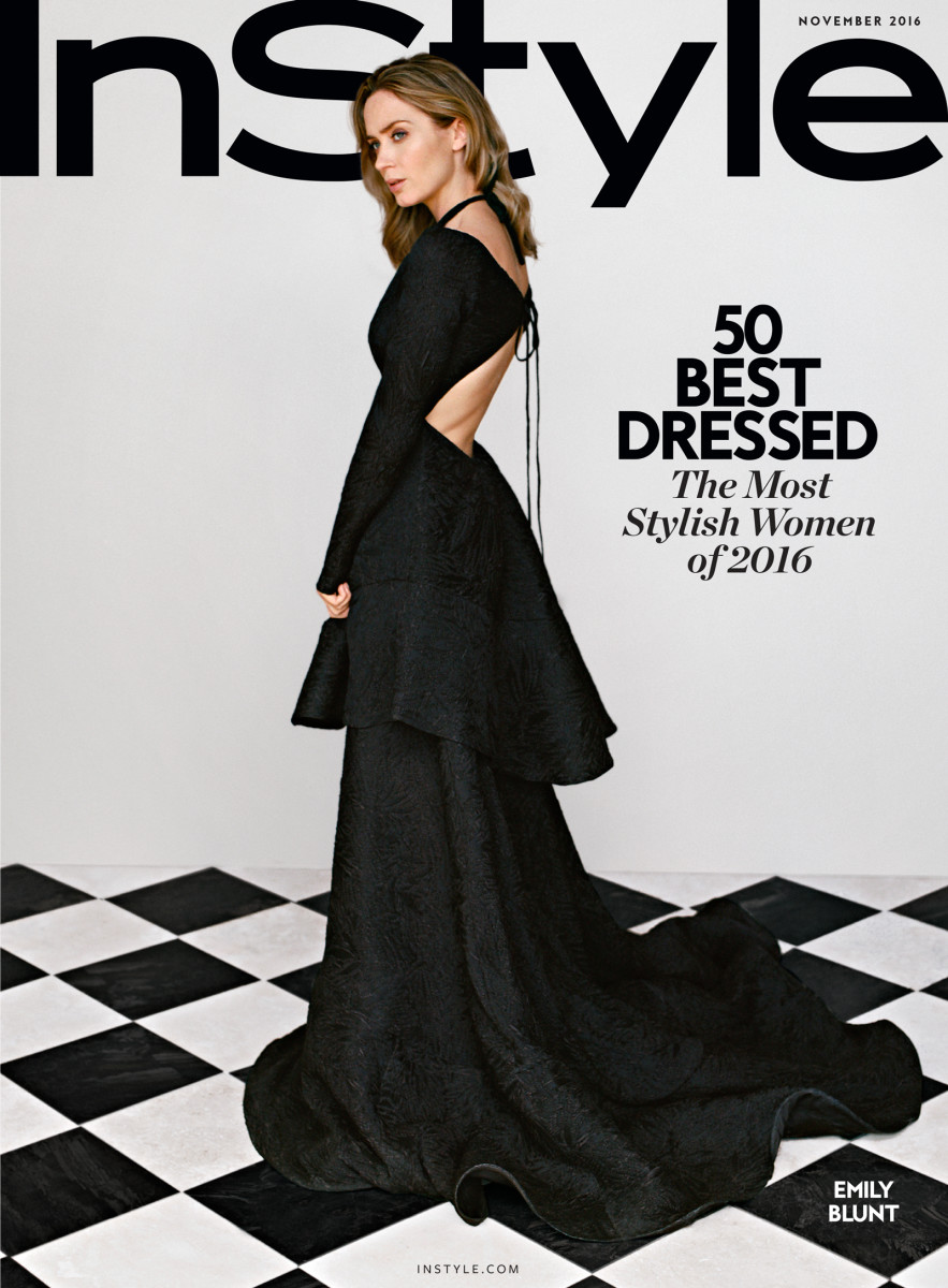 'InStyle' November issue subscriber cover. Photo: 'InStyle'