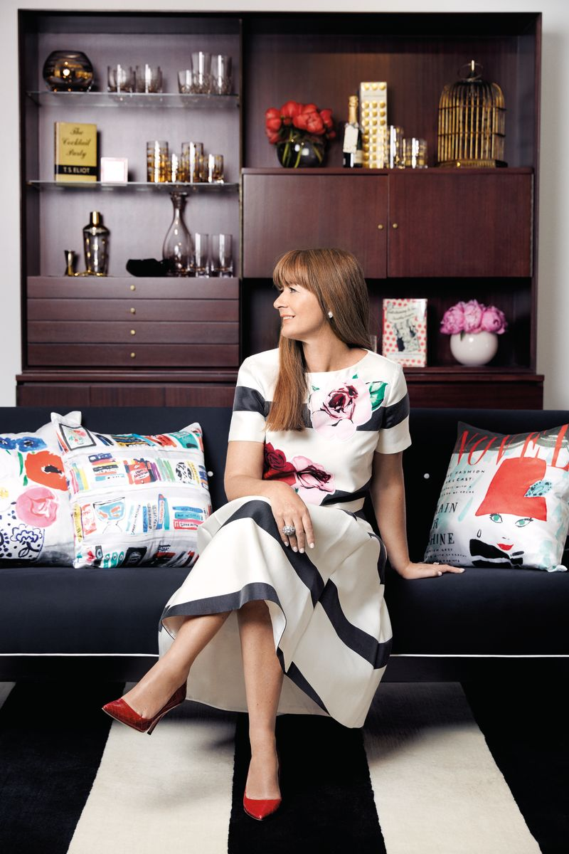 Deborah Lloyd in her home. Photo: Courtesy
