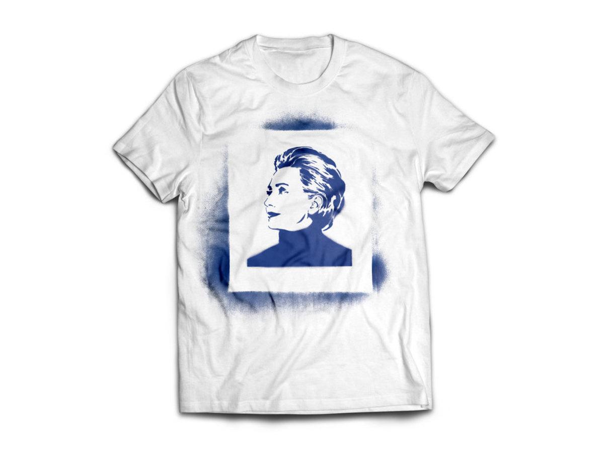 I Feel Like Hillz Stencil Shirt, $25, available at I Feel Like Hillz.