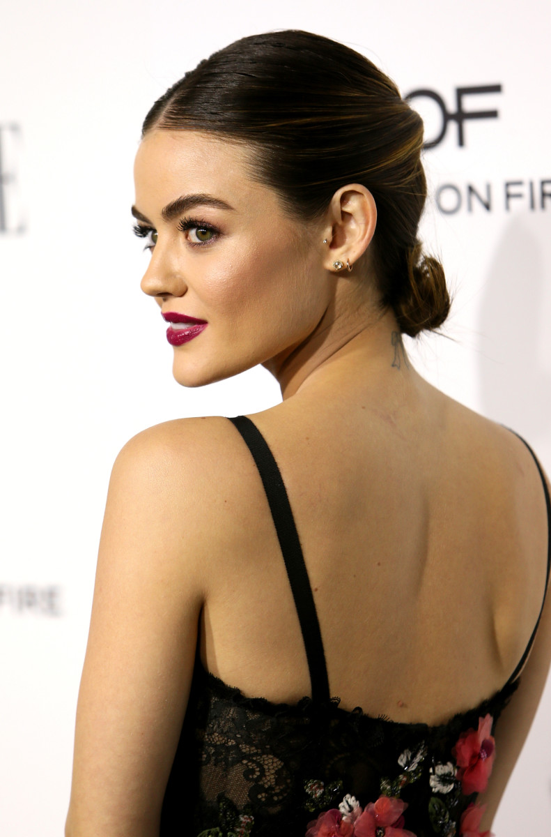 Lucy Hale at the ElleWomen in Hollywood Awards. Photo: David Livingston/Getty Images