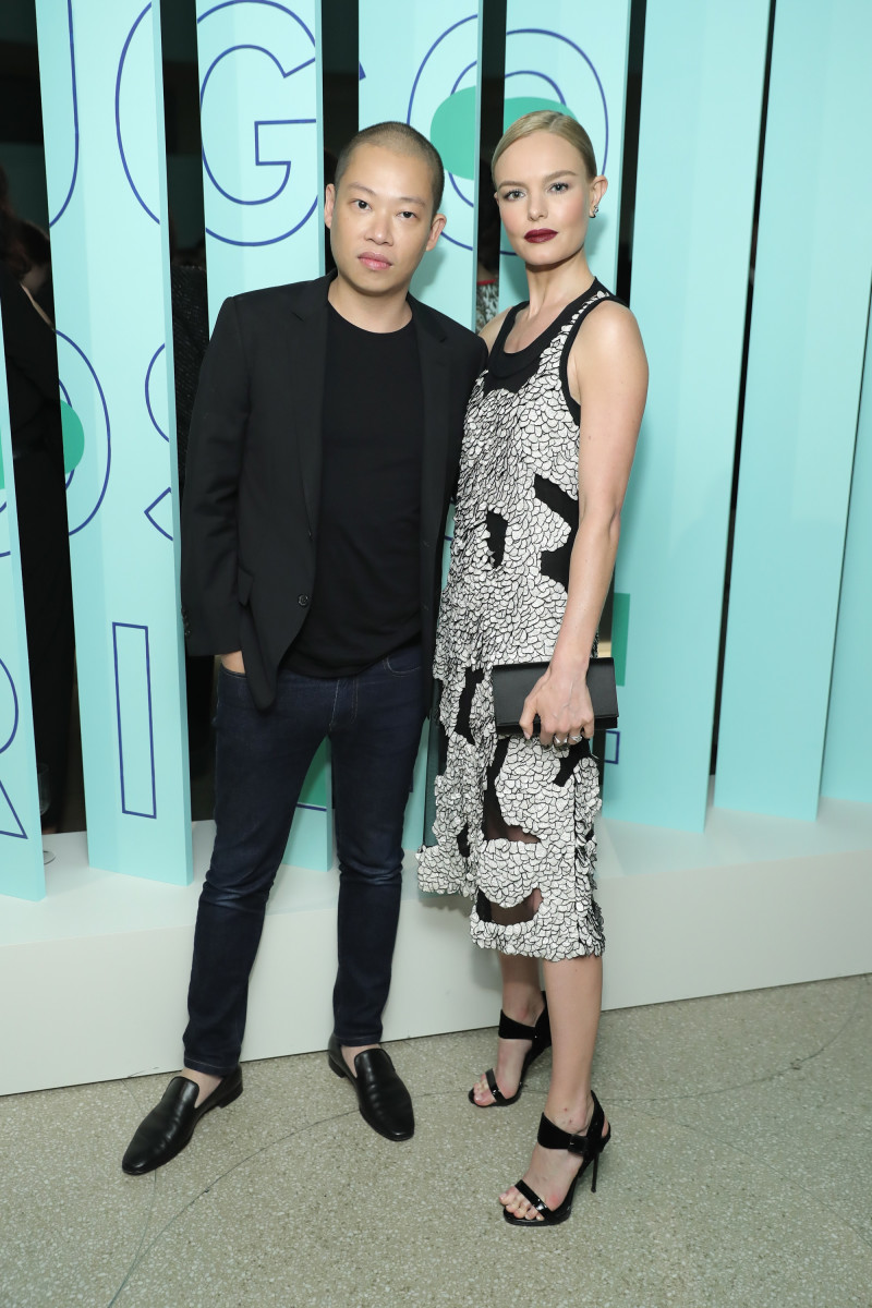 Jason Wu and Kate Bosworth at the Hugo Boss Prize event at the Guggenheim in New York on Oct. 20, 2016. Photo: Jamie McCarthy/Getty Images