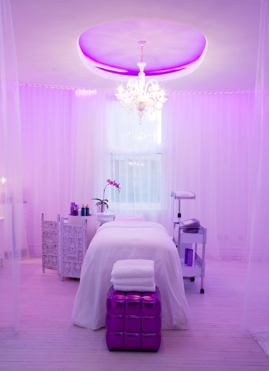A room at the Tracie Martyn spa. Photo: Courtesy of Tracie Martyn