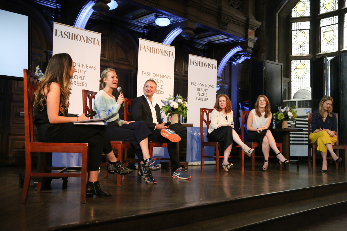"Fashionista's 2014 ""How to Make It in Fashion"" conference. Photo: Fashionista"