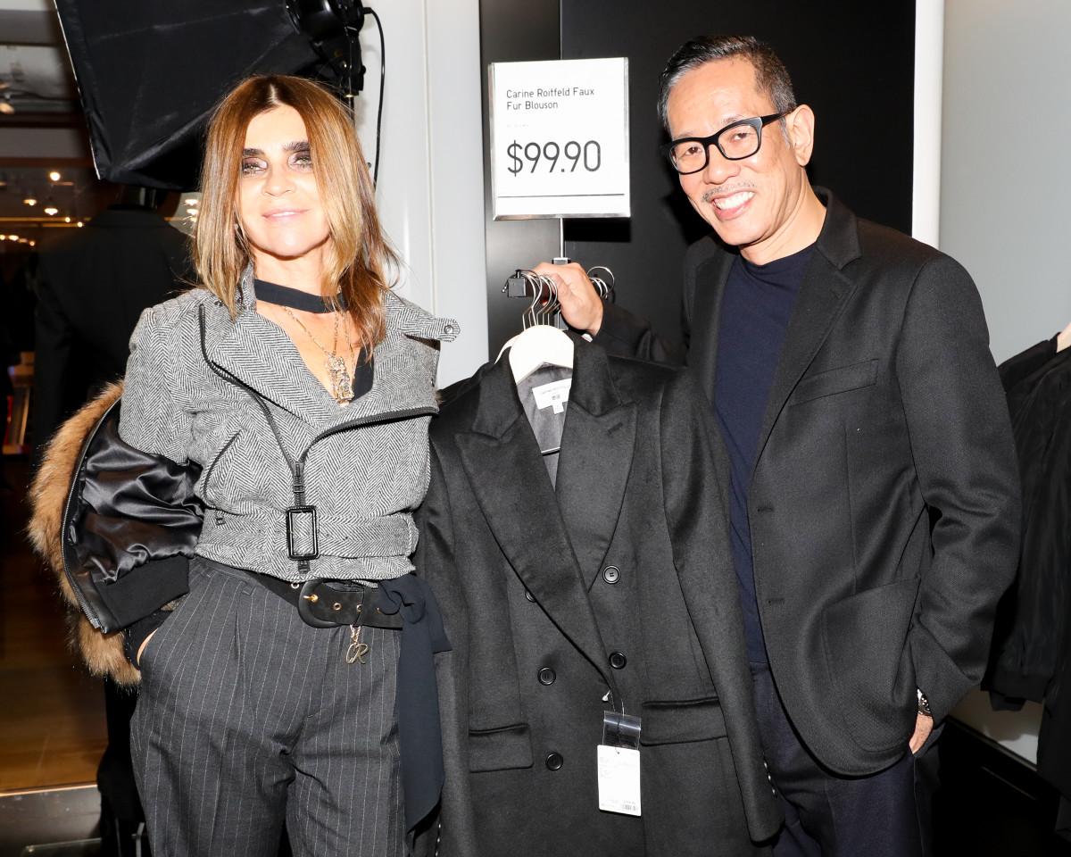 Fashion week Roitfeld carine a wardrobe retrospective for lady