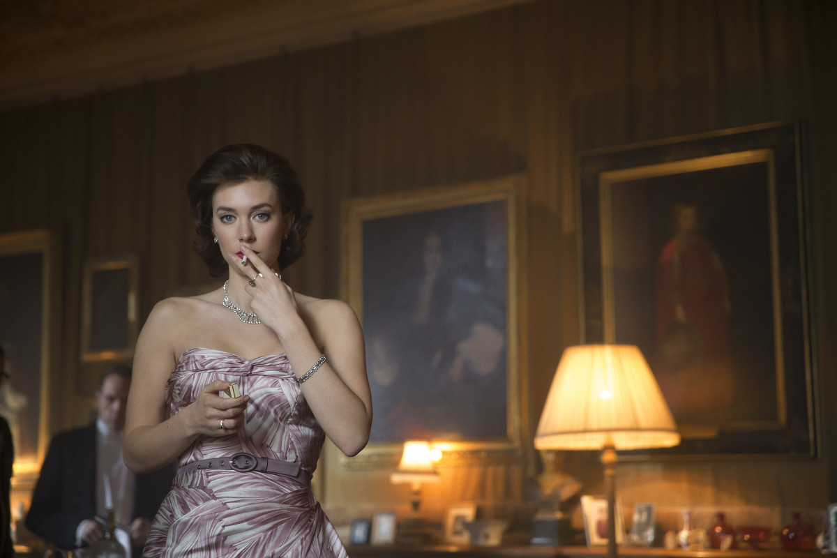 Sassy Princess Margaret (Vanessa Kirby). Photo: Netflix