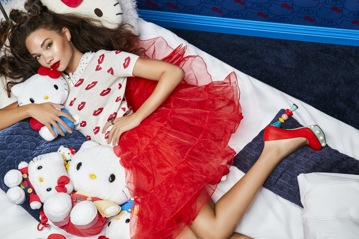 The Colourpop x Hello Kitty campaign image. Photo: Courtesy of Colourpop