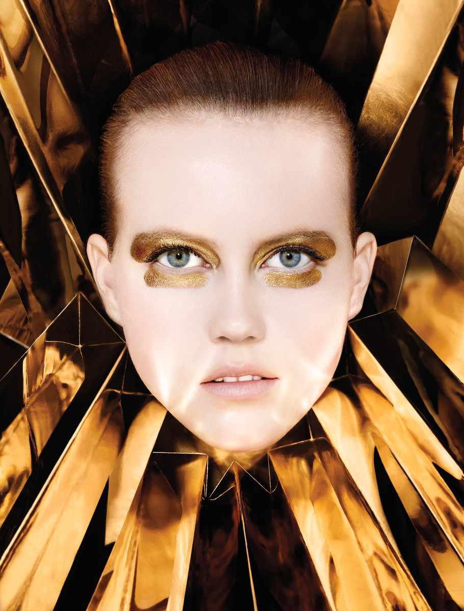Gold by Peter Philips, Portfolio, Julie Hoomans. Photo: Richard Burbridge/Courtesy of Dior