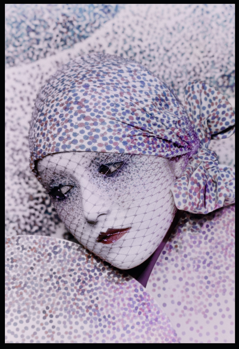Serge Lutens, Makeup Art, 1972. Photo: Serge Lutens/Courtesy of Dior
