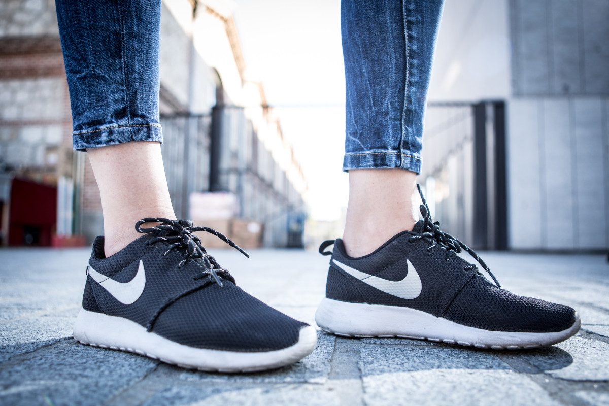 A very popular pair of Nike Roshe One sneakers. Photo: Pablo Cuadra/Getty Images