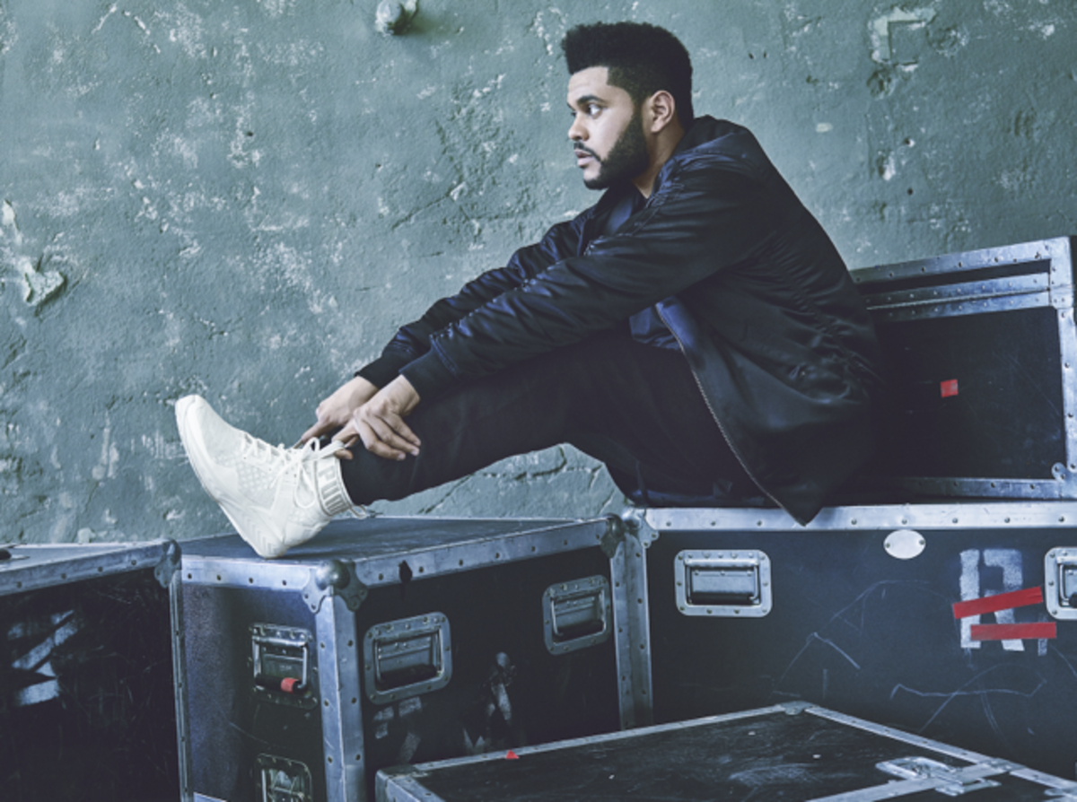 The Weeknd for Puma. Photo: Puma