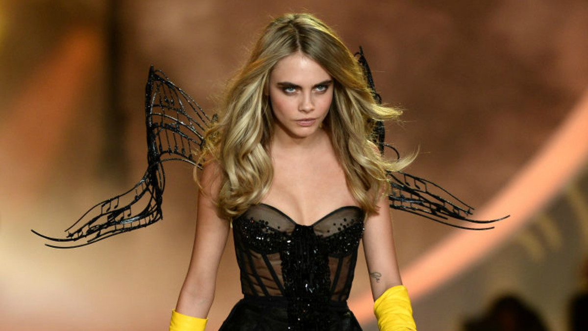 352f67957df Cara Delevingne Sounds Off on Rumor That She Was Rejected From Victoria s  Secret Casting - Fashionista