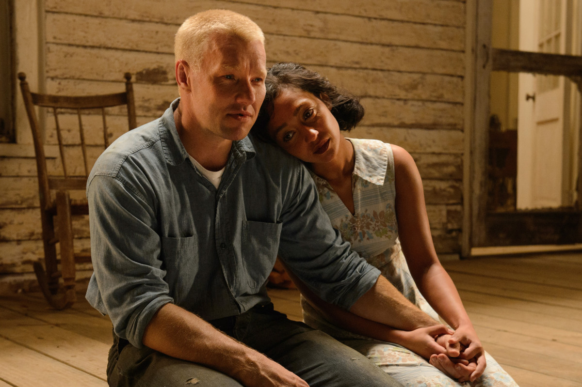 Richard (Joel Edgerton) and Mildred (Ruth Negga) Loving. Photo: Ben Rothstein/Focus Features
