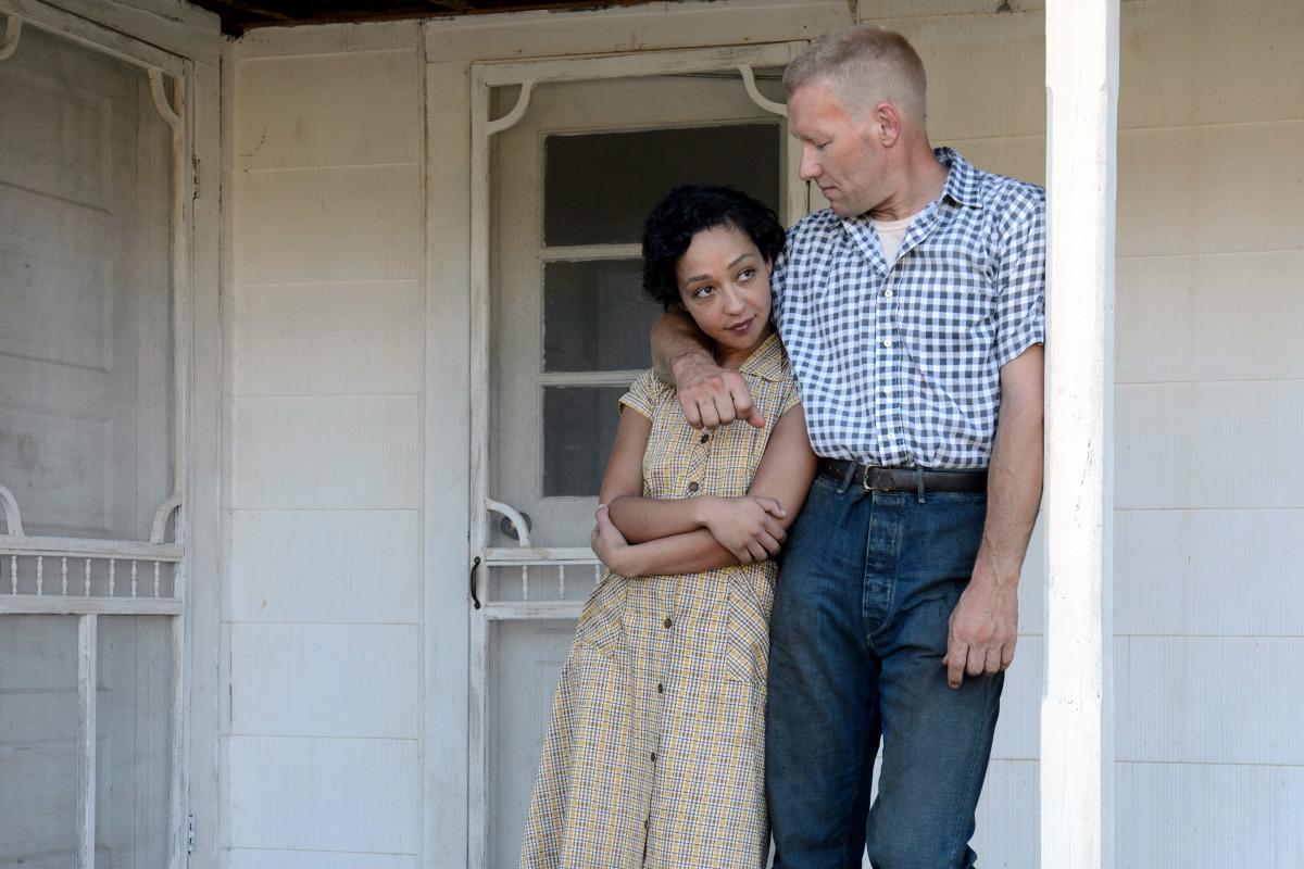 Mildred (Ruth Negga) and Richard Loving (Joel Edgerton). Photo: Ben Rothstein/Focus Features