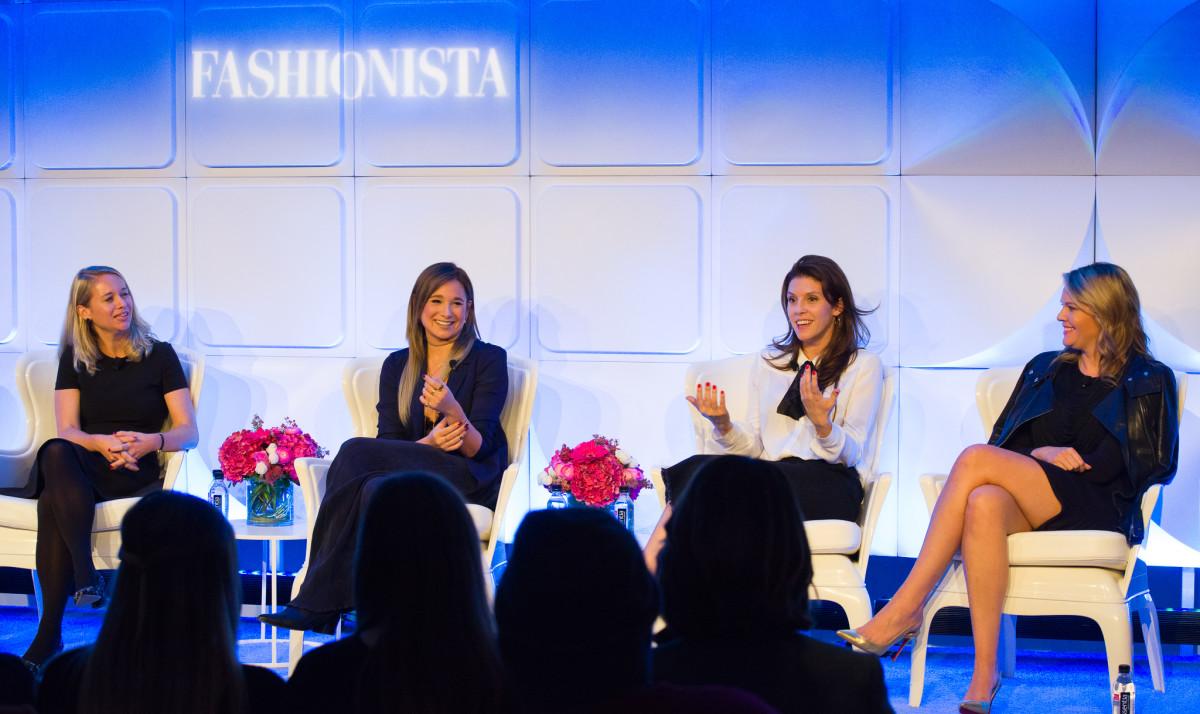 Krista Neuhaus, Danielle Bernstein, Jennifer Powell and Reesa Lake.Photo: Arnold Soshkin/Fashionista
