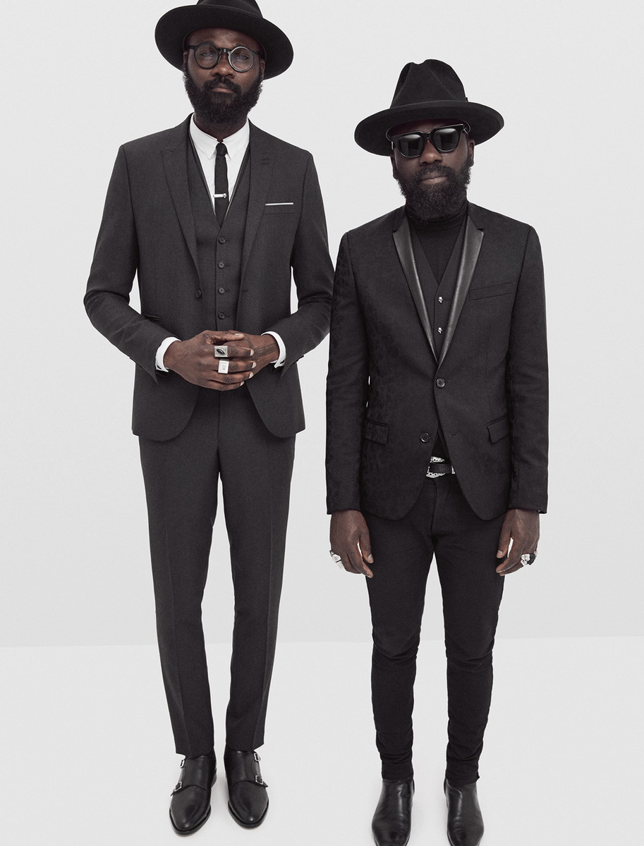 Artistic duo Sam Lambert and Shaka Maidoh. Photo: courtesy of The Kooples