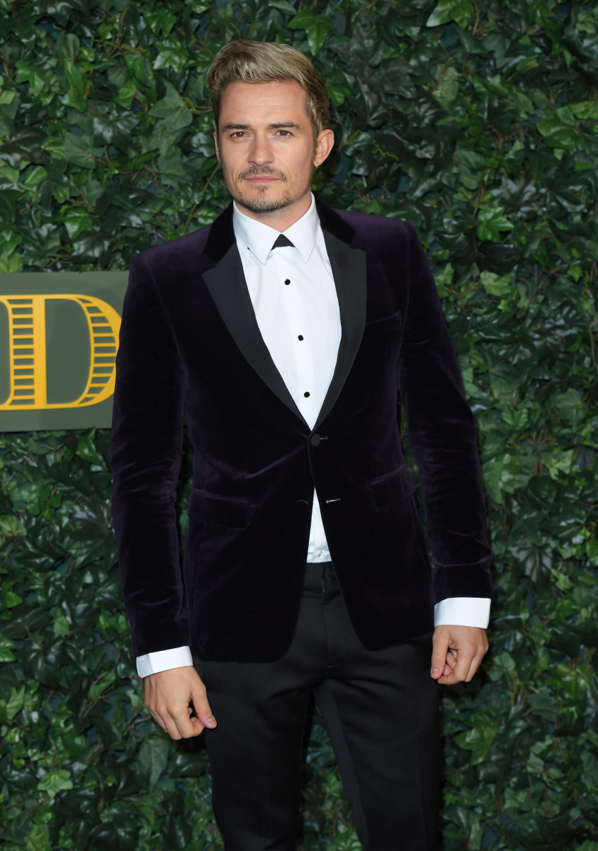 Orlando Bloom attends The London Evening Standard Theatre Awards in London. Photo: Karwai Tang/Getty Images