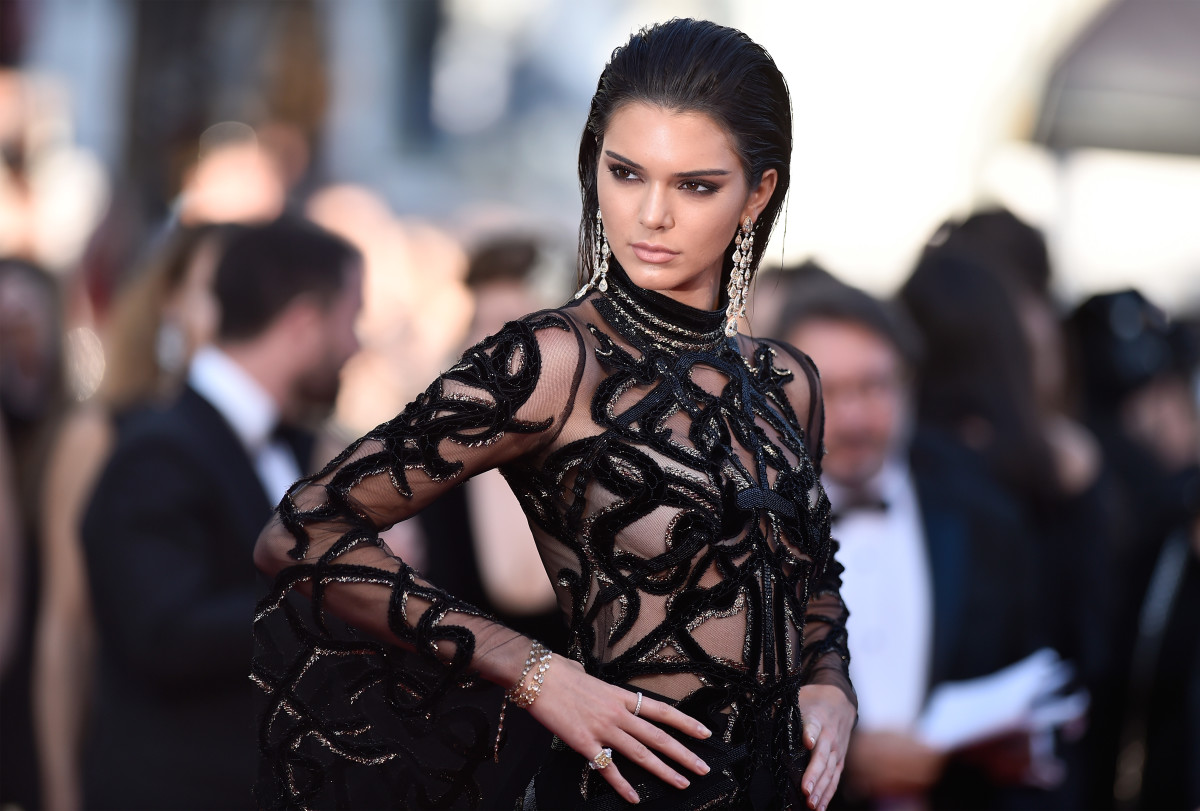 Kendall Jenner at the 2016 Cannes Film Festival. Photo: Pascal Le Segretain/Getty Images