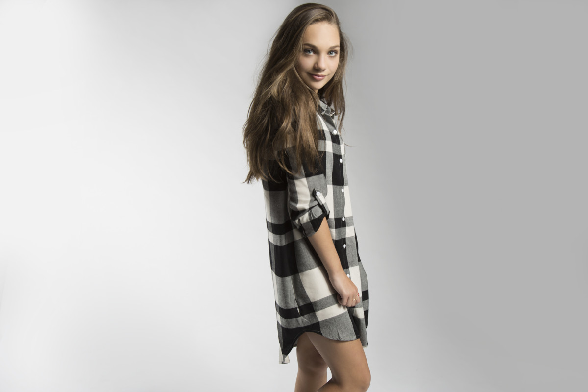 Maddie Ziegler models looks from her fall Maddie line. Photo: Courtesy