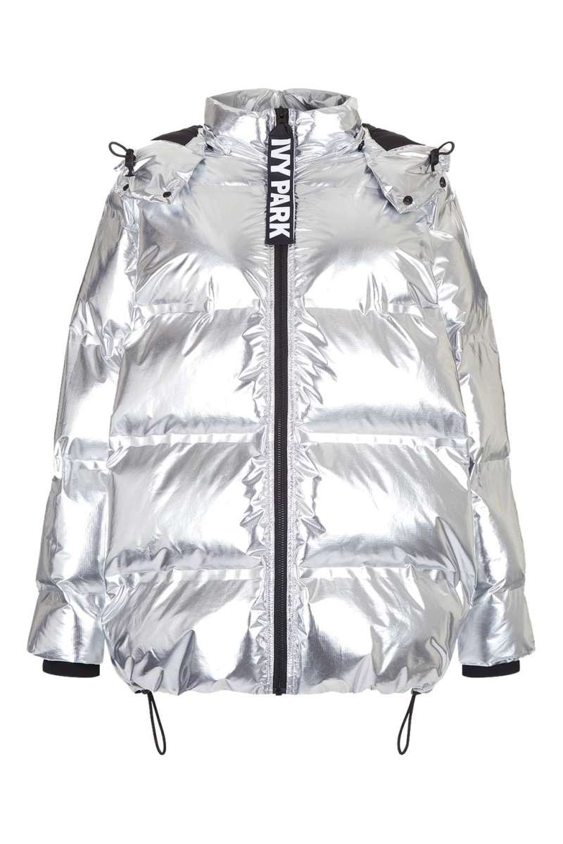 Oversized Bonded Puffer by Ivy Park, $200, available at Topshop.com.