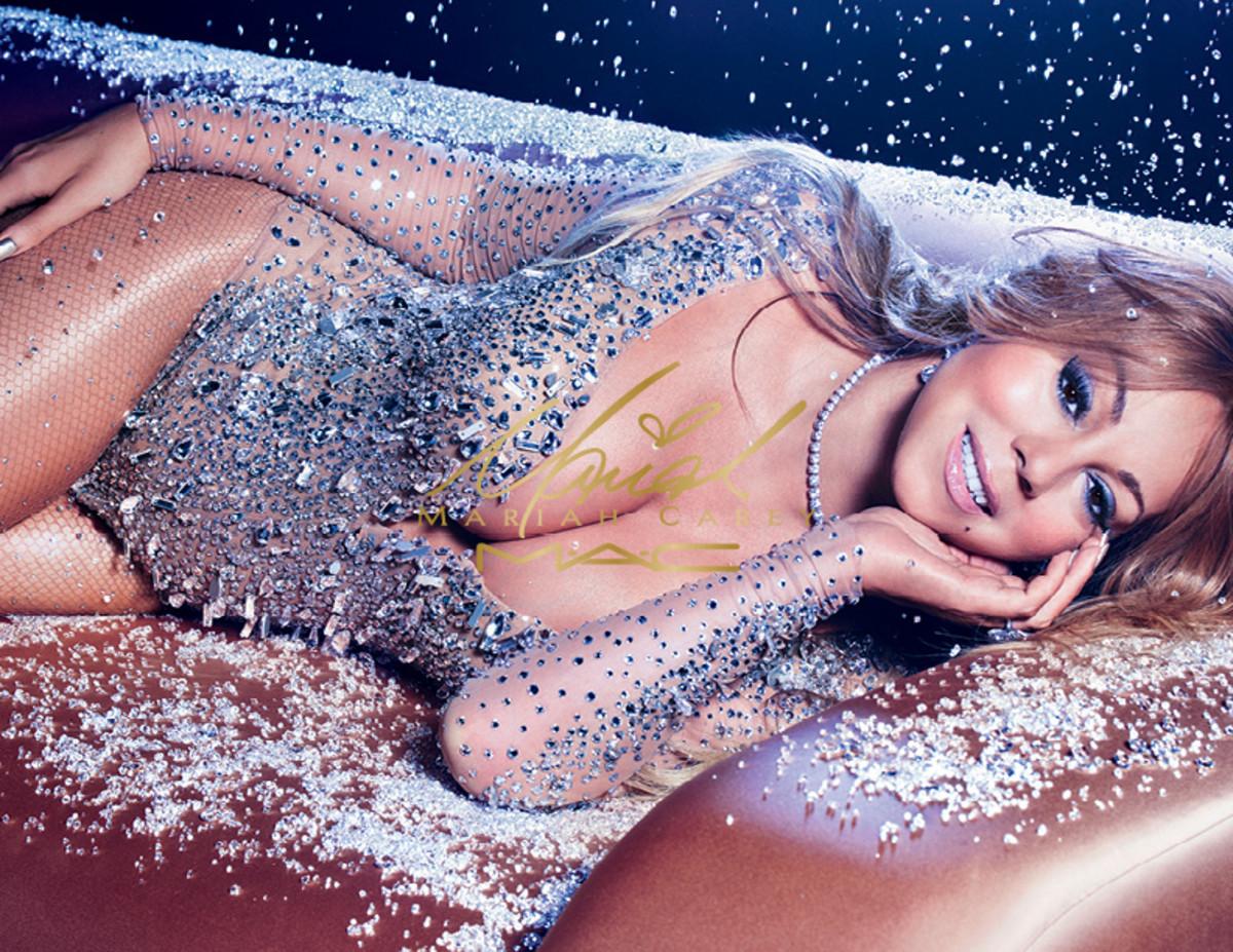 Mariah Carey for MAC Cosmetics. Photo: MAC Cosmetics