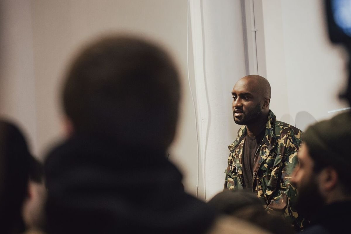 e12abbeb58d6 Virgil Abloh at Apolis Community Centre. Photo  Apolis