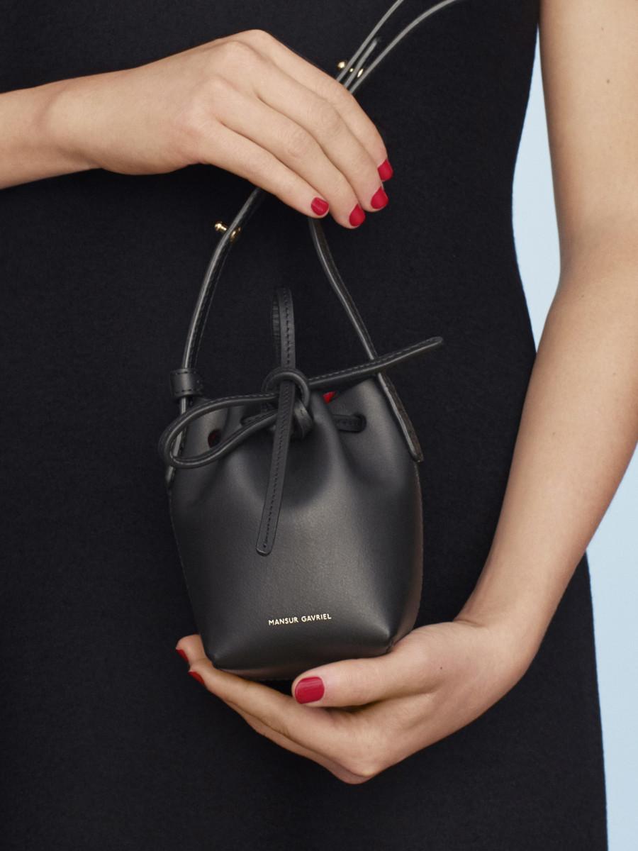 Mansur Gavriel's Baby Bucket Bag. Photo: Mansur Gavriel