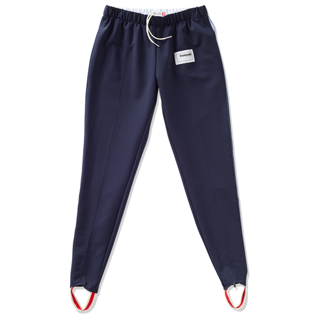 Tracksmith Women's Bislett Pants in Navy, $148, available at Tracksmith.