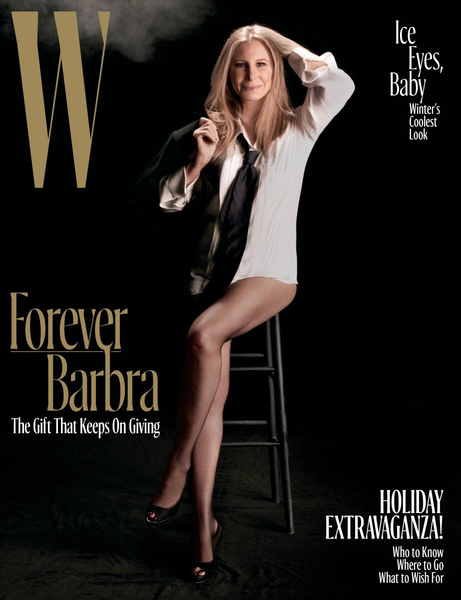 "Barbara Streisand for ""W"" Magazine. Photo: Steven Meisel"
