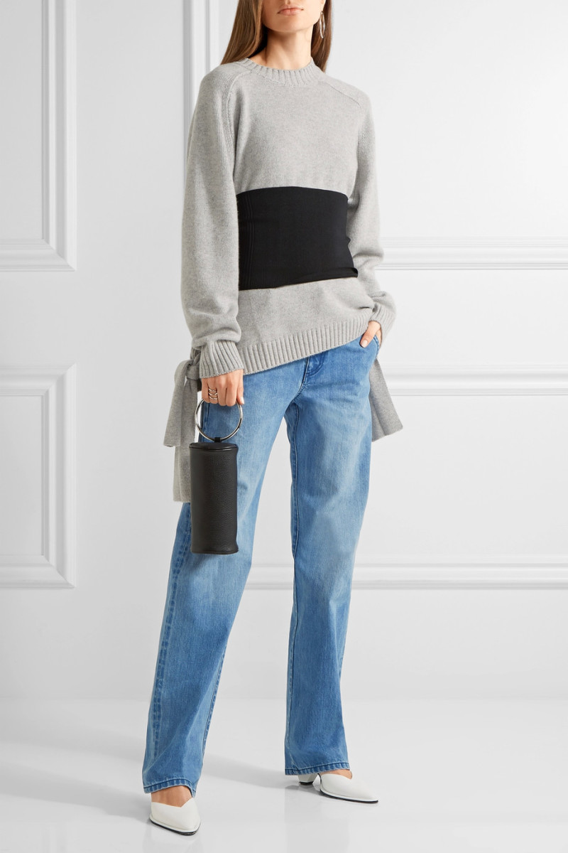 Tibi Stretch-Knit Corset, $350, available at Net-a-Porter.