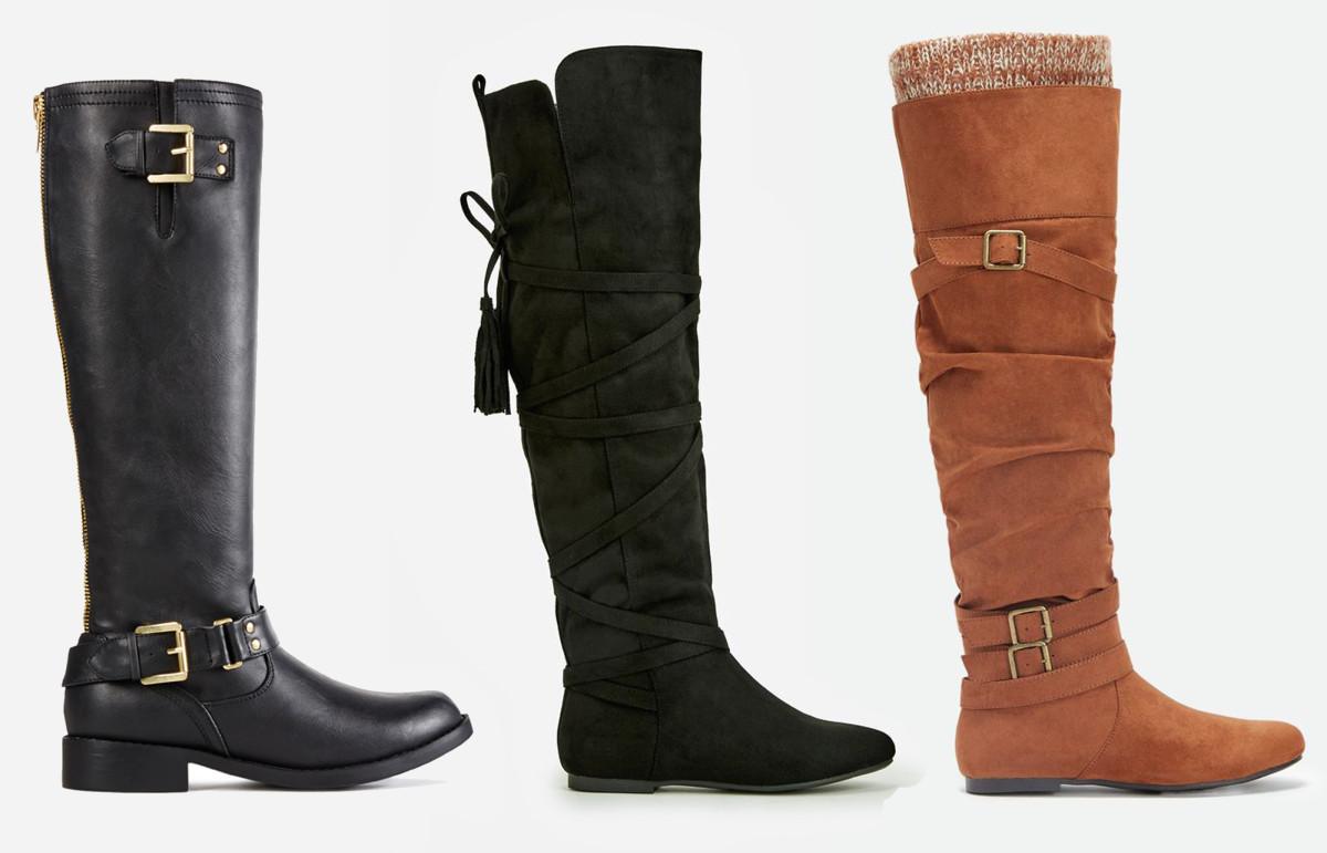 L-R: Danica boot, $7.49 VIP/$39 Regular; Kailani boot, $9.99 VIP/$74.95 Regular; Elodee boot, $11.24 VIP/$74.95 Regular