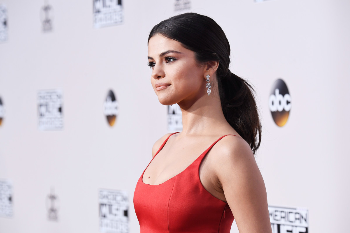 Selena Gomez at the 2016 American Music Awards. Photo: Frazer Harrison/Getty Images