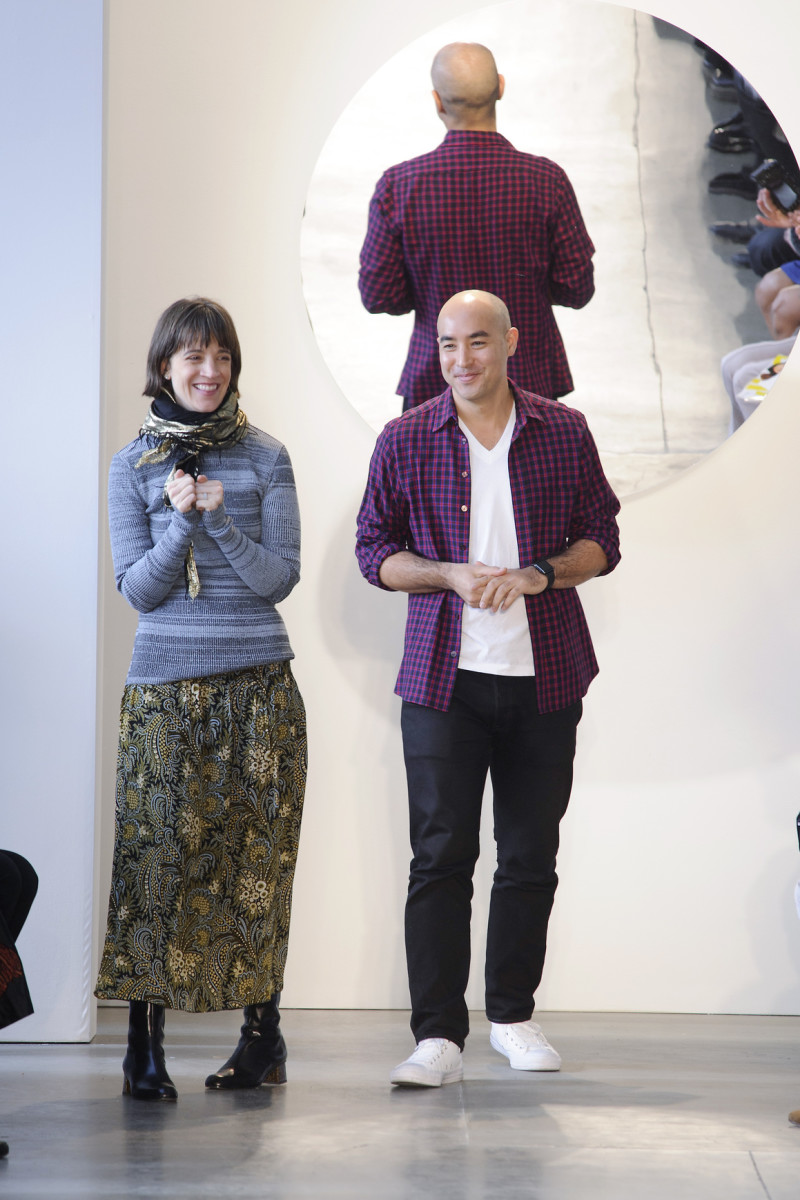Suno designers Erin Beatty and Max Osterweis. Photo: Imaxtree