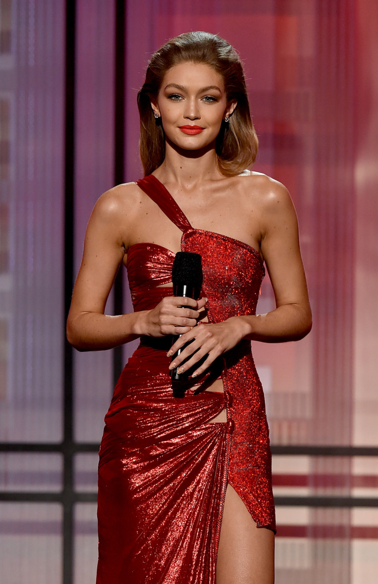 Gigi Hadid at the 2016 American Music Awards. Photo:Kevin Winter/Getty Images