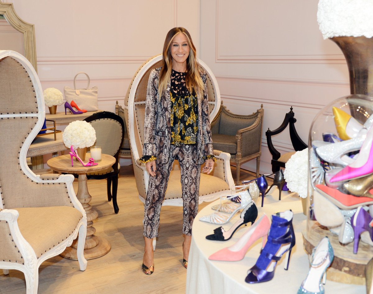 Sarah Jessica Parker at an SJP pop-up in Las Vegas in April 2015. Photo: Getty Images