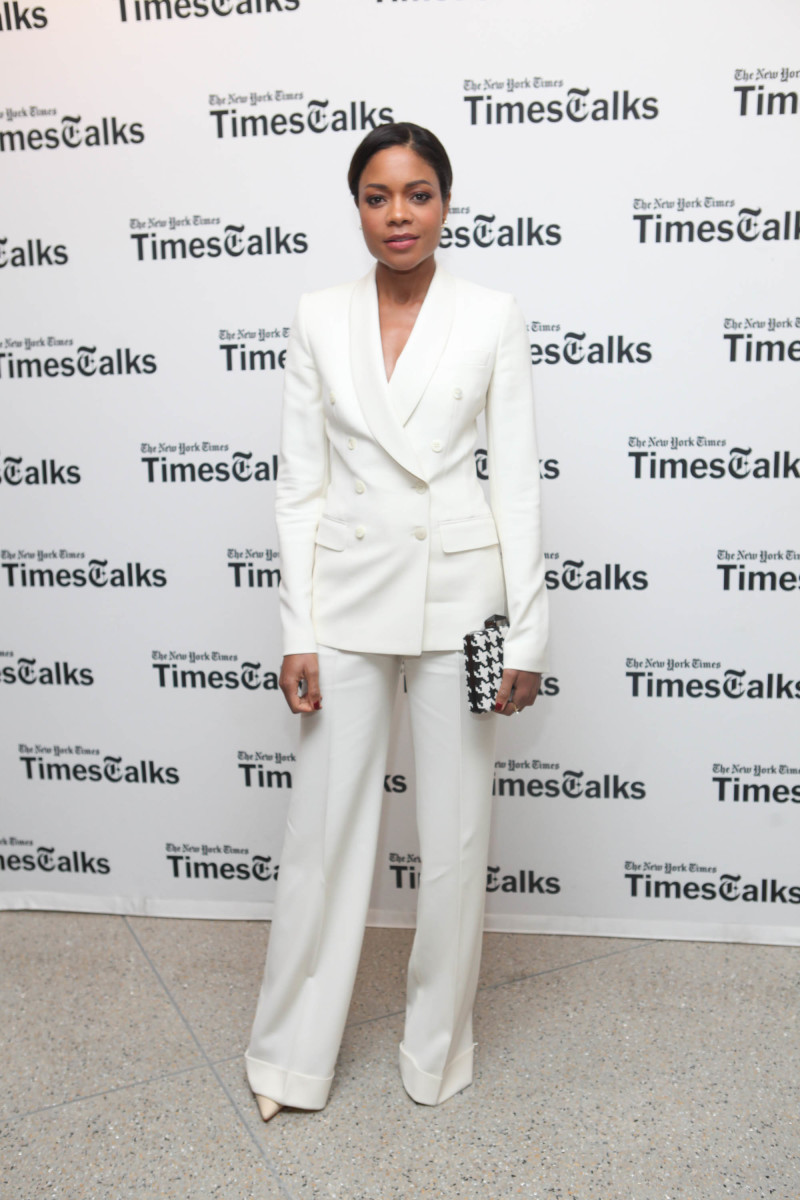 naomie harris white suit
