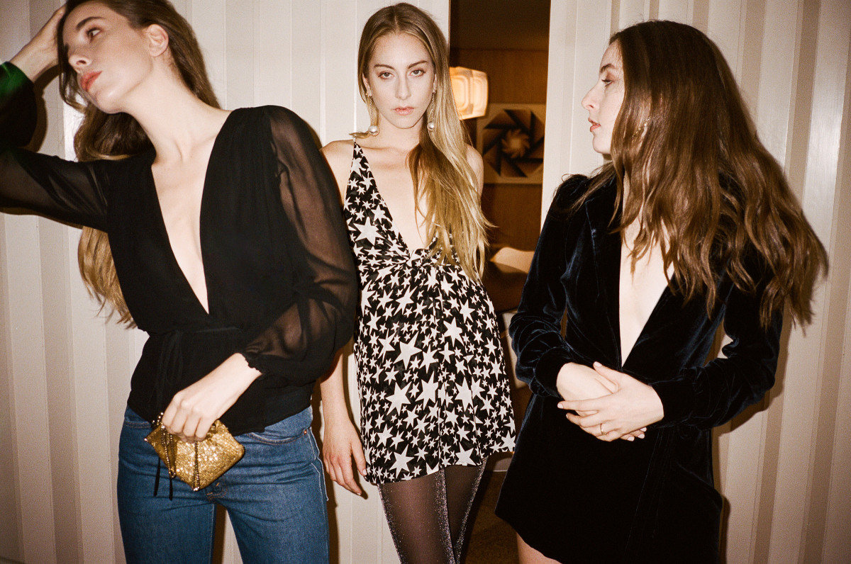 df097f3a085a Reformation Teamed Up With Haim for a Very  OnBrand New Year s Eve ...