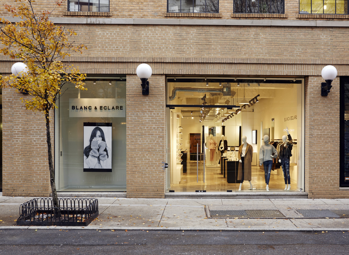 Blanc & Eclare's New York City flagship. Photo: Blanc & Eclare