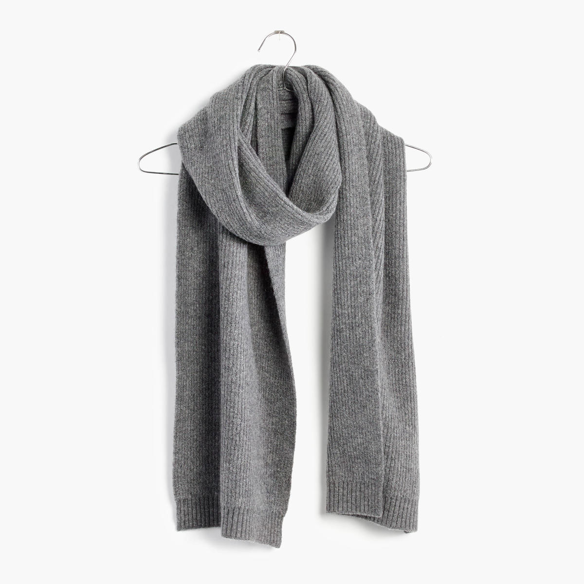 Madewell ribbed scarf, $38.15 with code FORYOU, available at Madewell.