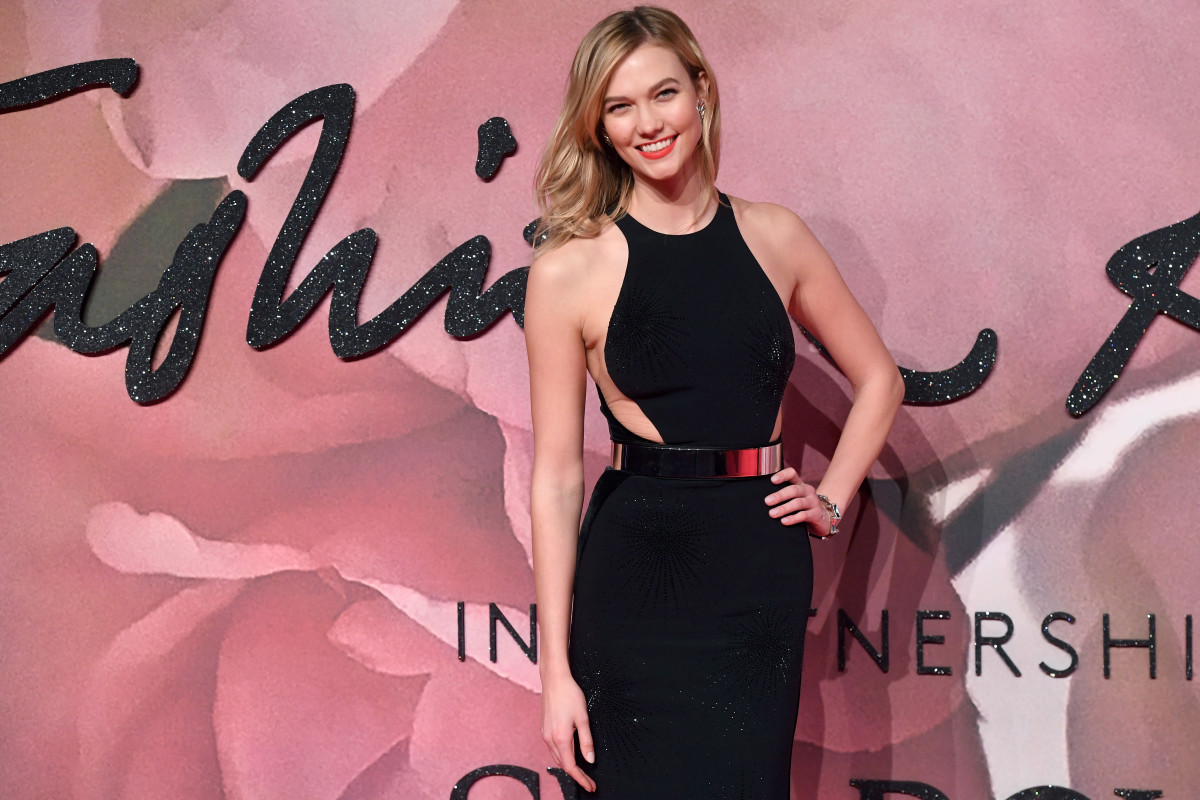 Karlie Kloss at The Fashion Awards 2016 on Monday in London. Photo: Stuart C. Wilson/Getty Images