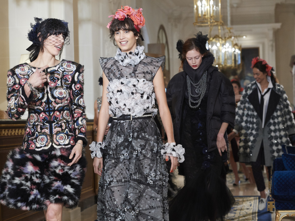 The finale of Chanel's 2017 Métiers d'Art collection. Photo: Chanel