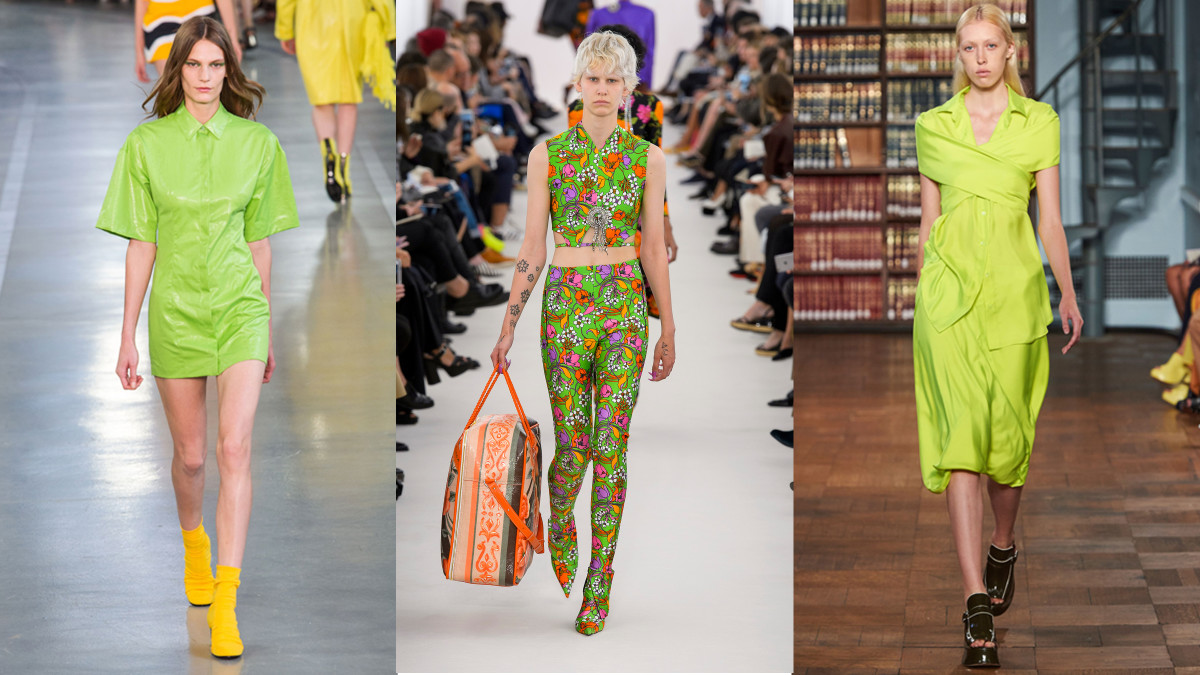 From left, Pucci, Balenciaga and Sies Marjan. Photos: Imaxtree