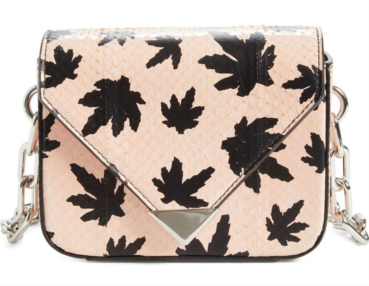 Alexander Wang Mini Prisma Snakeskin Shoulder Bag, $595, available at Nordstrom