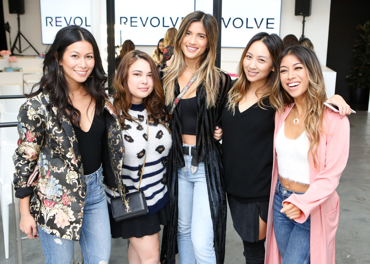 Guests at the Revolve Beauty launch event. Photo: BFA