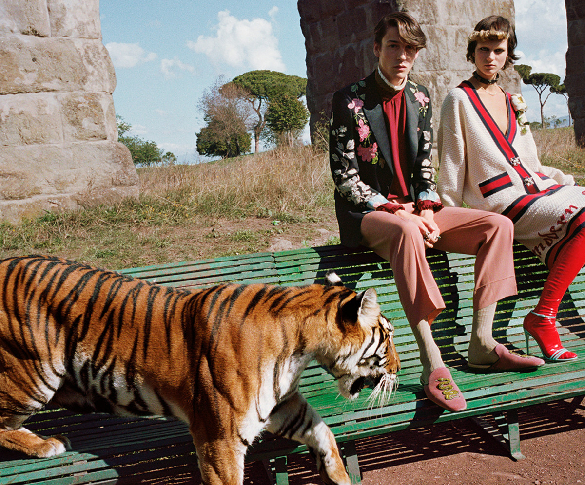 Photo: Glen Luchford for Gucci