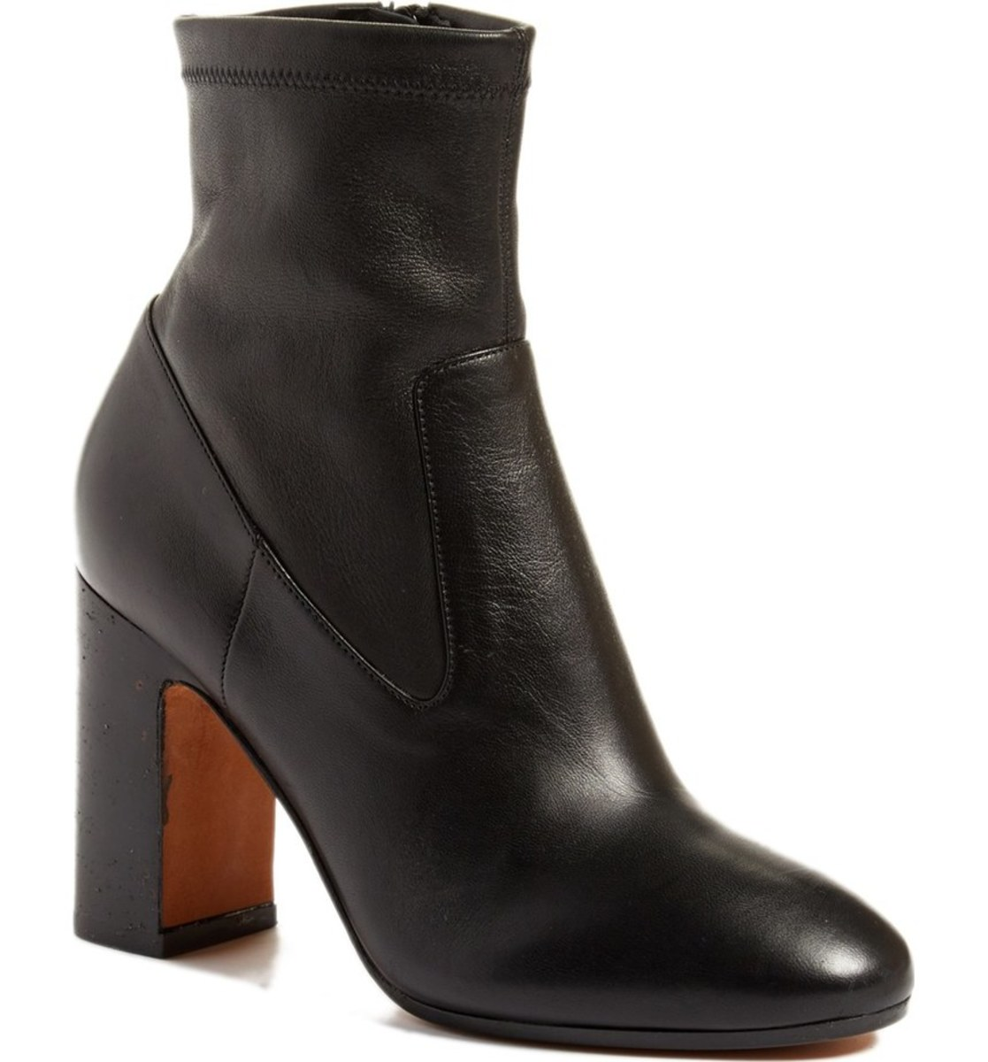 "Vince ""Calista"" Block Heel Bootie, $224.98 (from $450), available at Nordstrom."