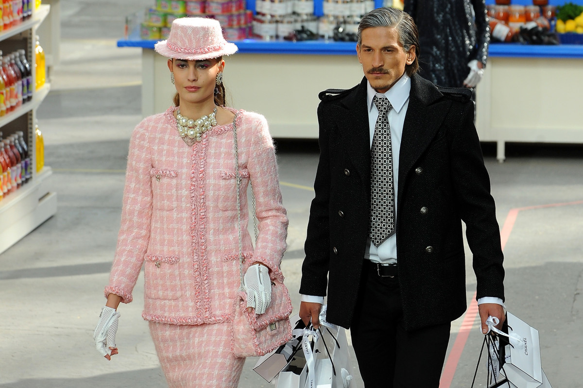 A classic Chanel tweed jacket. Photo: Francois Durand/Getty Images